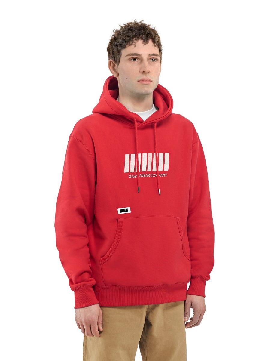 Fulllife Bar Hoodie HP Red