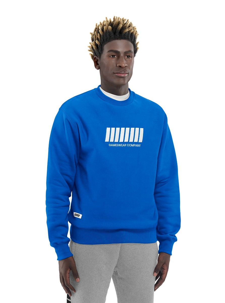 Fulllife Bar Sweatshirt Mana Blue