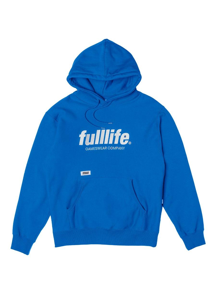 Fulllife Wordmark Hoodie Mana Blue