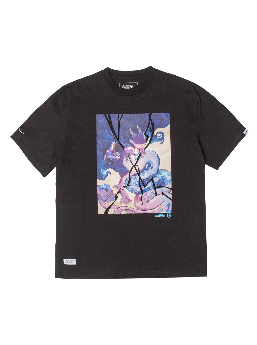 Won The Fight T-shirt Obsidian Black