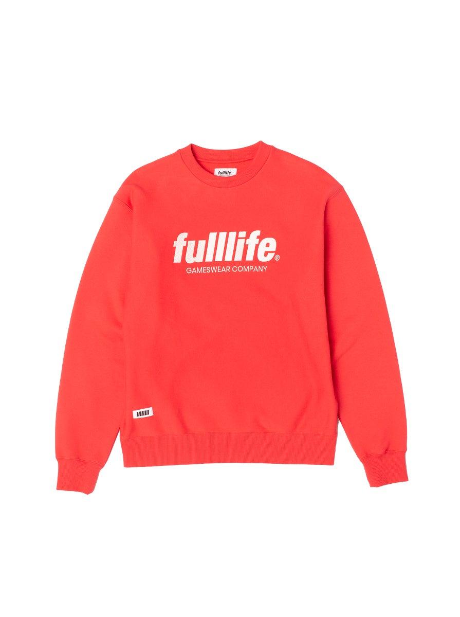 Fulllife Wordmark Sweatshirt HP Red