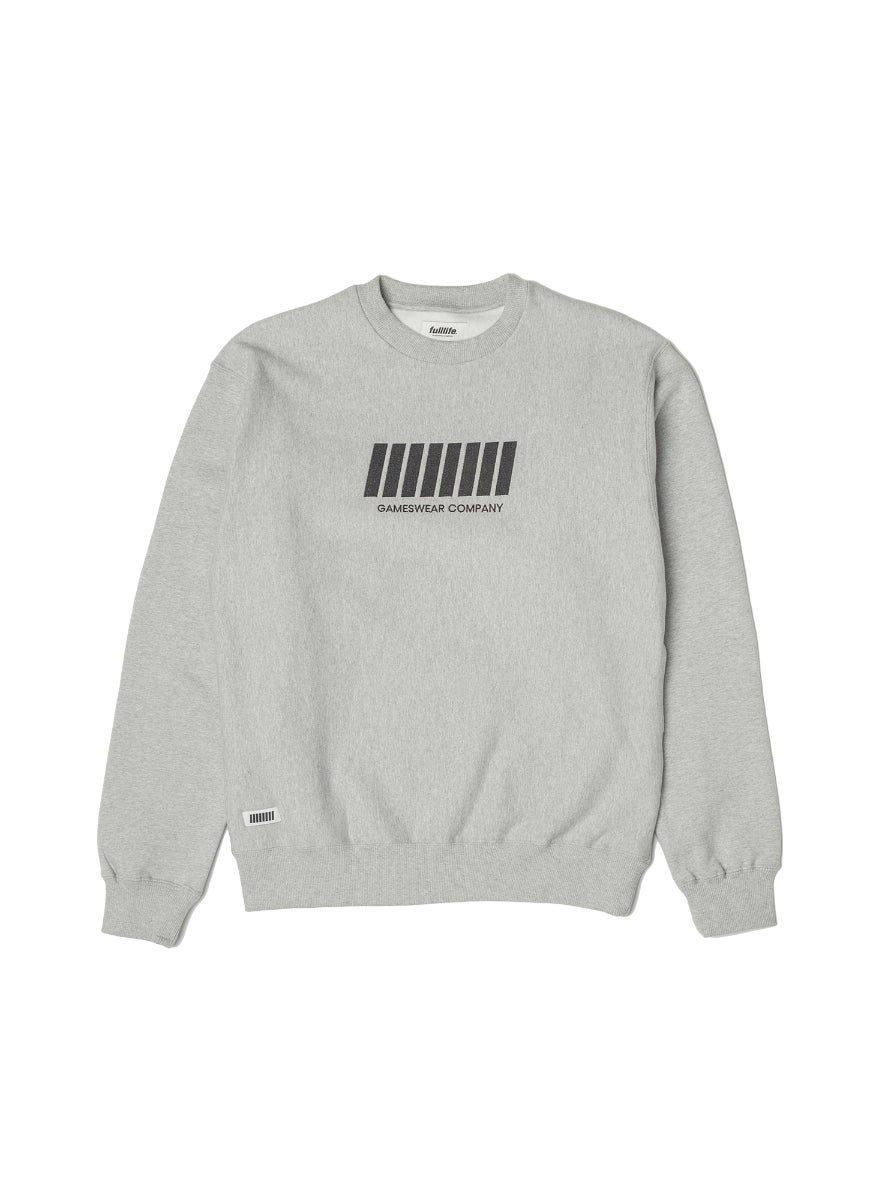 Fulllife Bar Sweatshirt Ash Grey