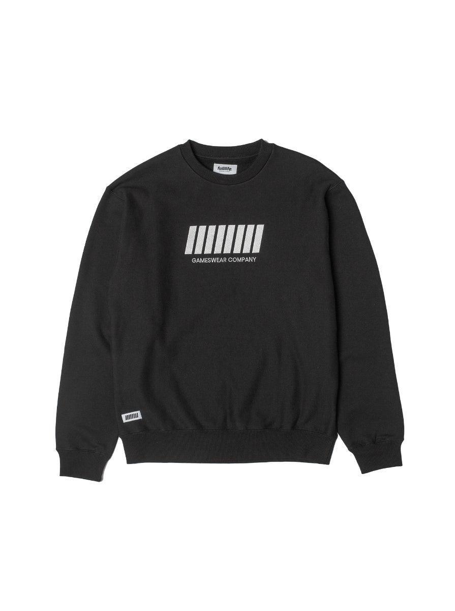 Fulllife Bar Sweatshirt Obsidian Black