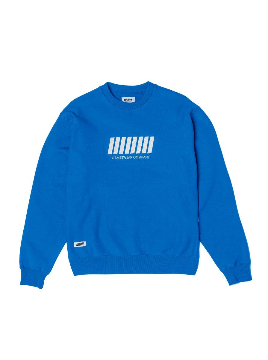Fulllife Bar Sweatshirt Mana Blue
