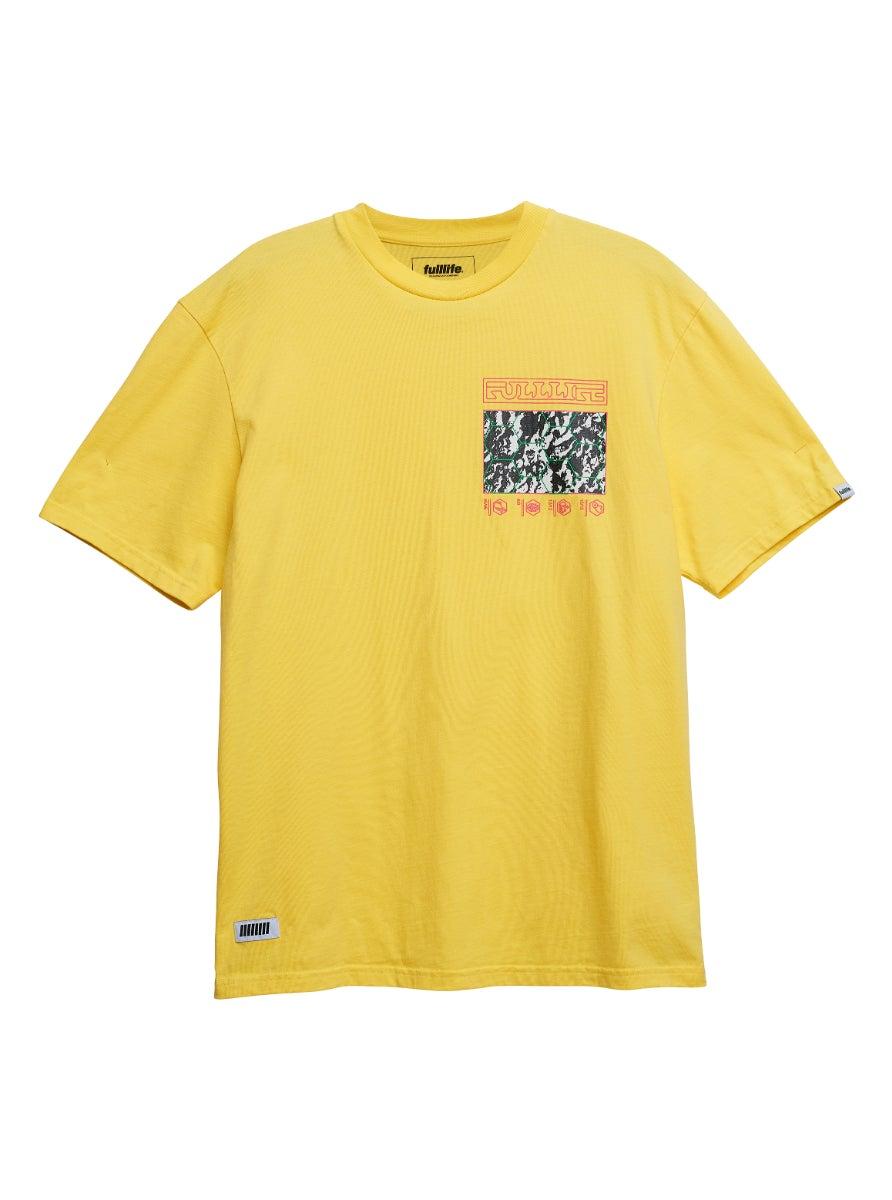 Conquer T-shirt Lightning Yellow