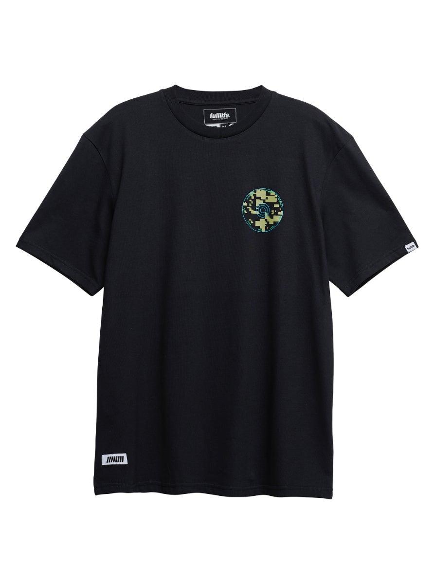 Minimap T-shirt Obsidian Black