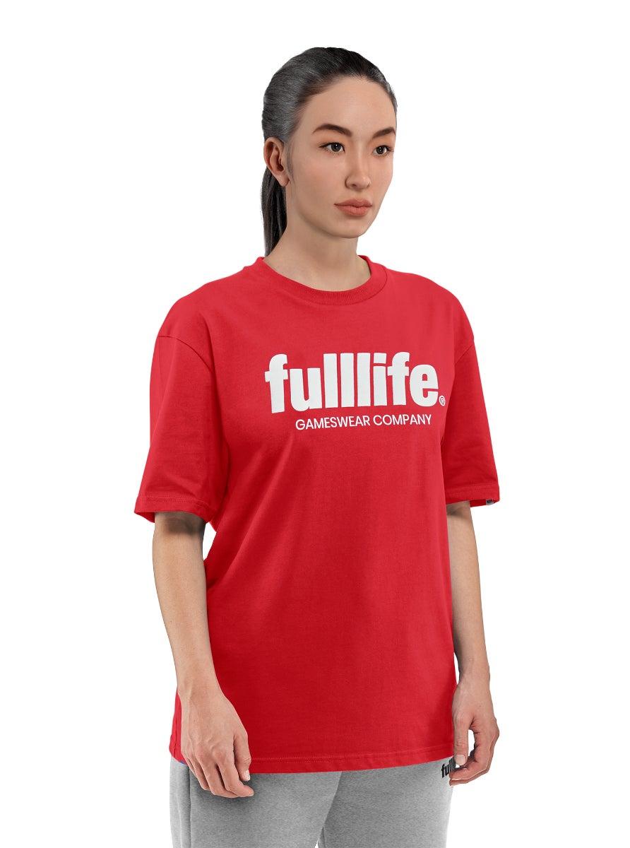 Fulllife Wordmark T-shirt HP Red