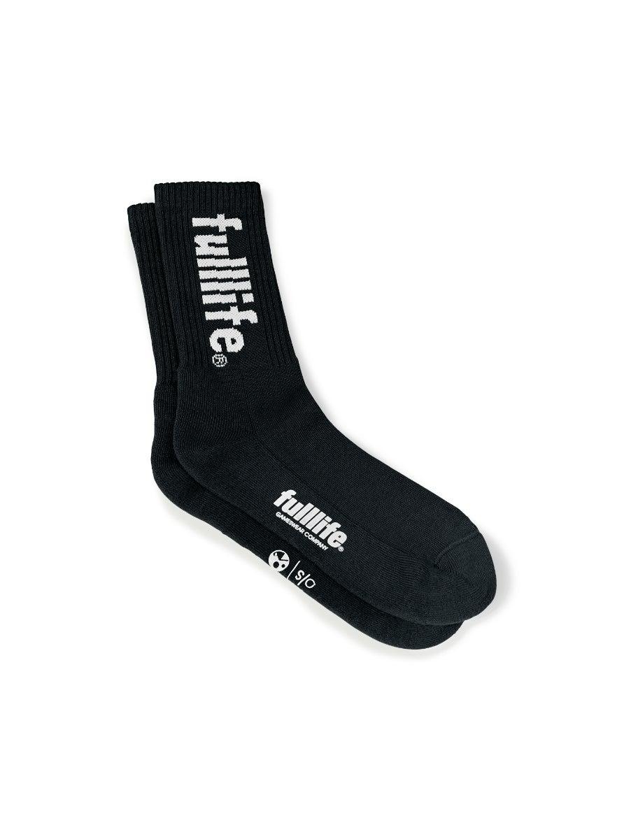 Rider's Socks Obsidian Black