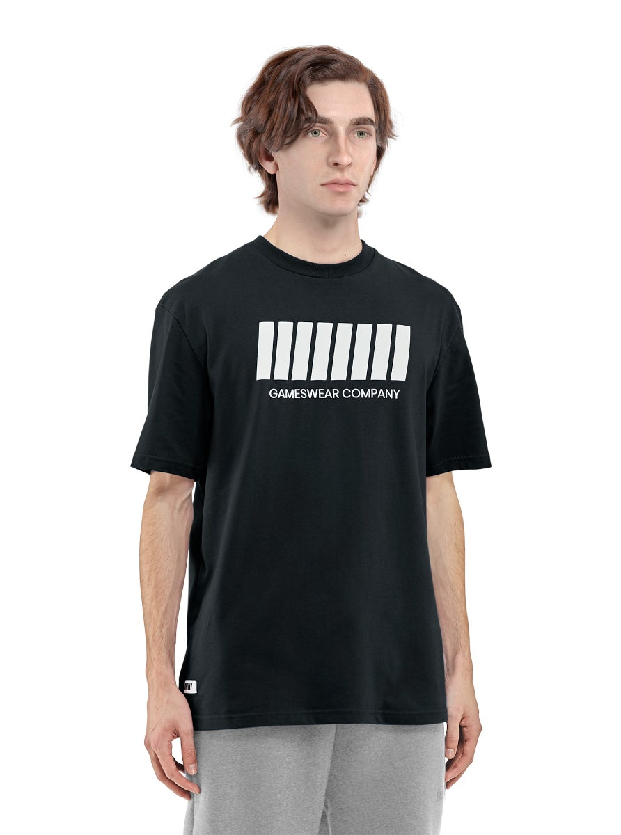 Fulllife Bar T-shirt Obsidian Black