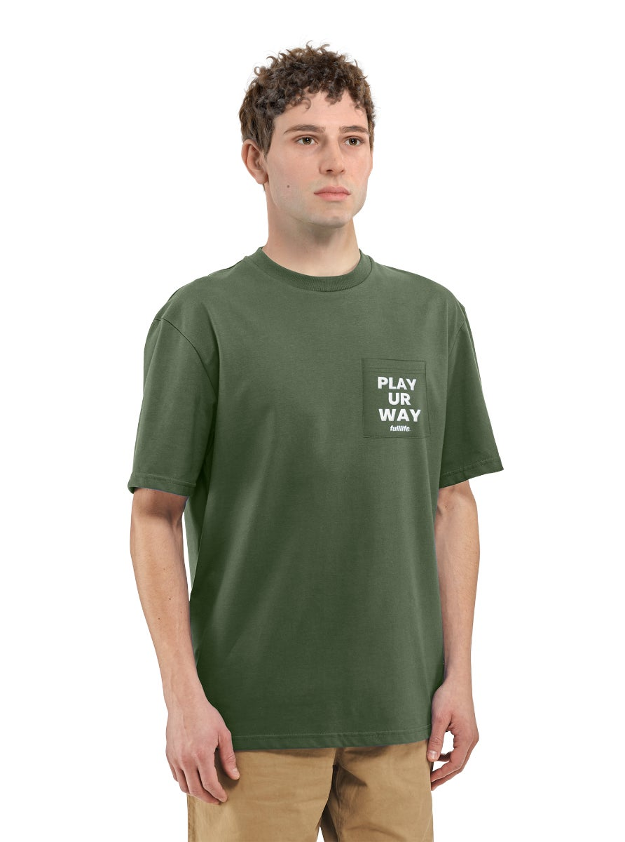 Playstyle Pocket T-shirt Spartan Green