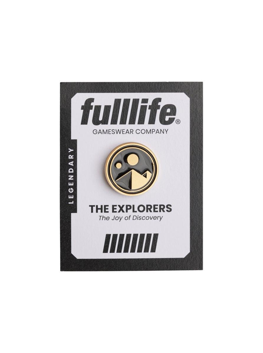 Explorer Legendary Pin